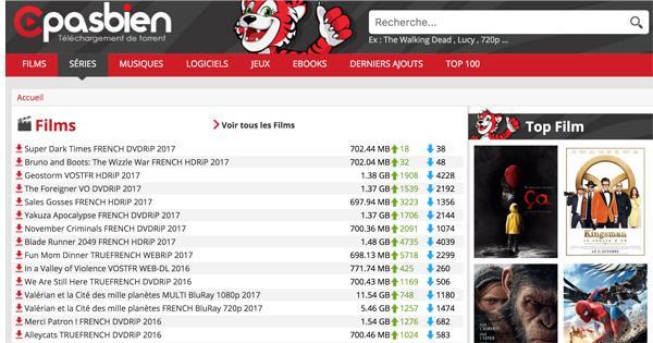 Cpasbien torrent9 film