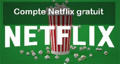 Compte Netflix Premium Gratuit 2019
