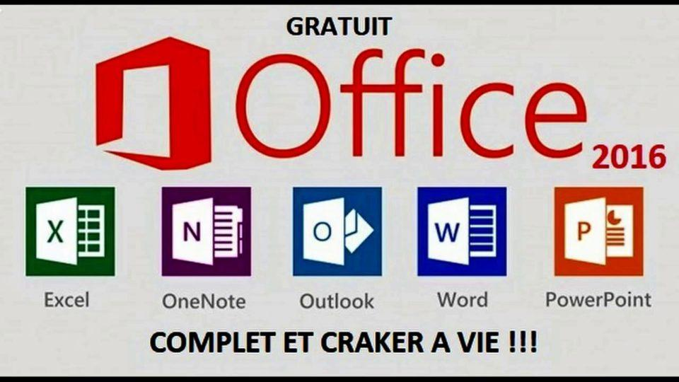 Activer pack office 2016/Office 365 gratuitement