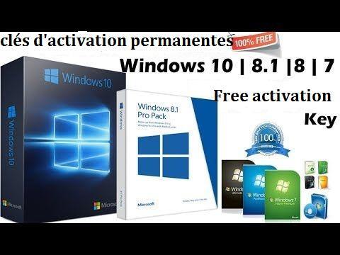 Clés de licence génériques pour l'installation de Windows