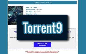 Torrent9 - Nouvelle Adresse Avec Lien de Téléchargement 2020