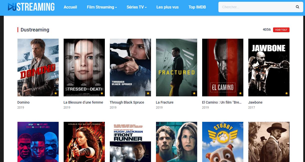 Dustreaming.com - Regarder des films gratuits sur Streaming en HD