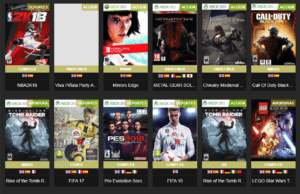 Xbox 360 GAMES TORRENTS