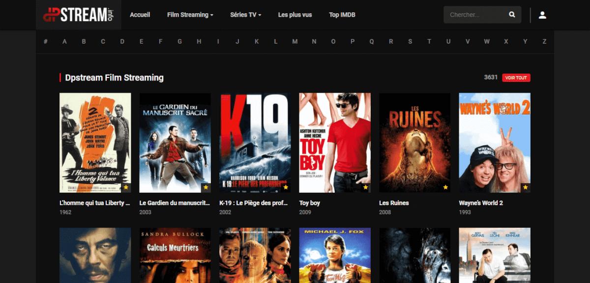 dpstream film streaming et serie streaming HD en VF et VOSTFR gratuit