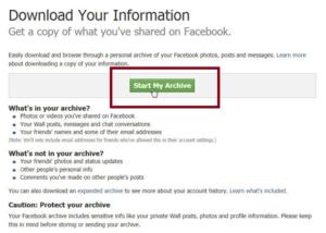 recuperer message supprimé facebook messenger