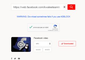 Comment Télécharger une vidéo Facebook en