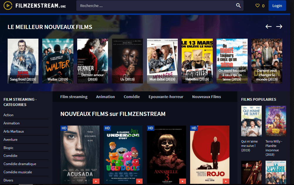 filmzenstream.to at WI. Film Streaming HD gratuit complet