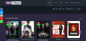 Papstream, Film Streaming gratuit