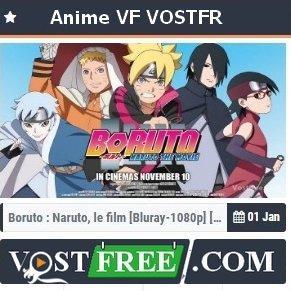 Vostfree - Animes VF et VOSTFR en Streaming gratuit