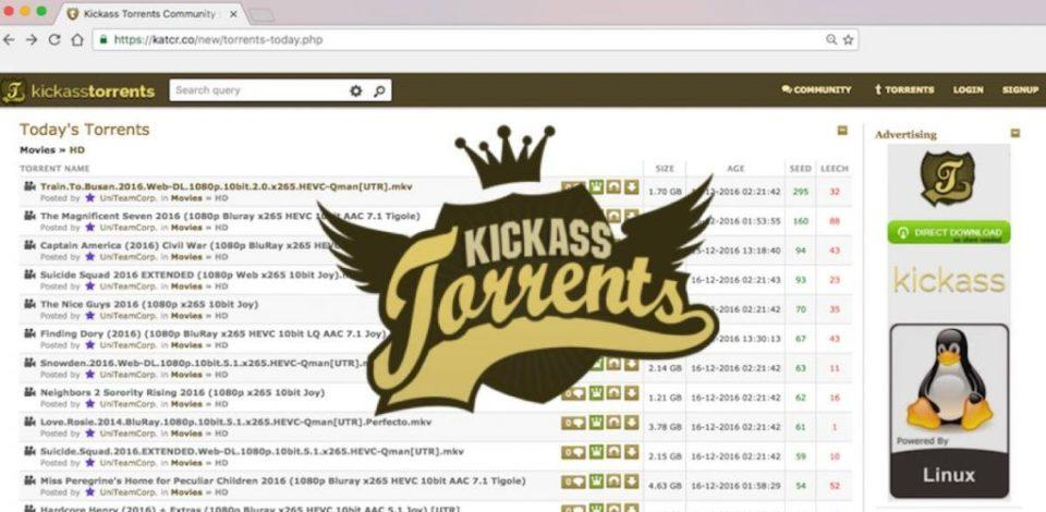 Meilleurs sites Web KickAss Torrent 2020 (100% de travail)
