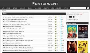Oxtorrent nuveau site de téléchargement torrent gratuit