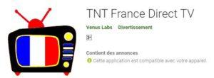 TNT France Direct TV