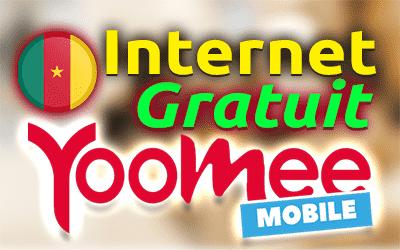 Internet gratuit Yoomee 4G PC et Android Juillet 2020