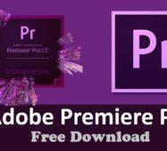 Télécharger Adobe Premiere Pro 2020 + Clé D'activation