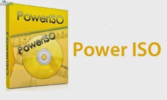 PowerISO 7.7 Crack License Key Download [Latest Version 2020]