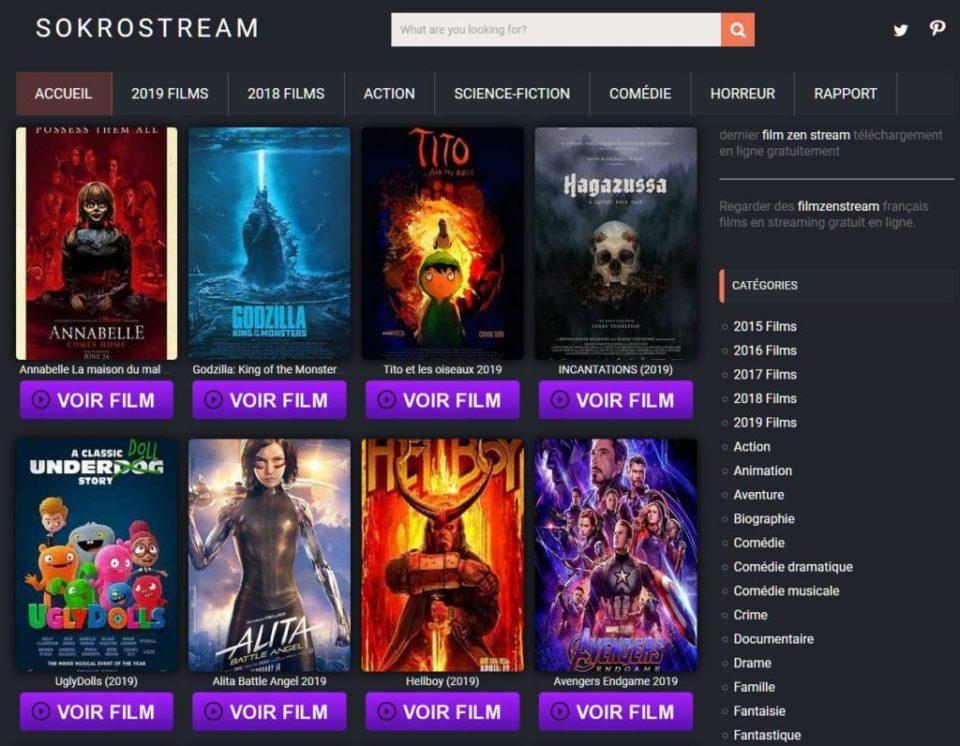 Sokrostream : Regarder Les Films Complets Gratuit En 2021