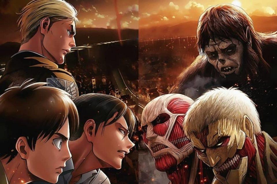 Télécharger L'attaque des Titans saison 4 complète