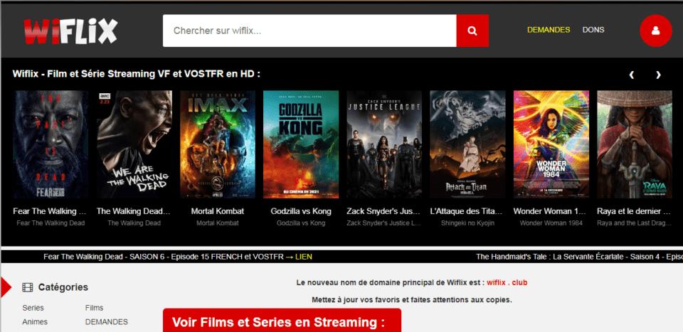 Wiflix - Film et Série Streaming VF et VOSTFR en HD