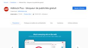 Adblock Plus - bloqueur de publicités gratuit