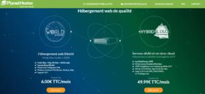 PlanetHoster: Hébergeur web
