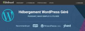 siteground hebergement wordpress pas cher